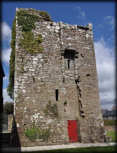 South Wall Tuamgraney Castle