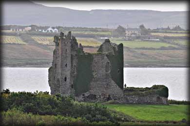 Ballycarbery Castle Kerry