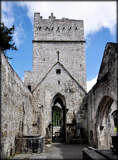 Muckross Abbey Killarney Kerry