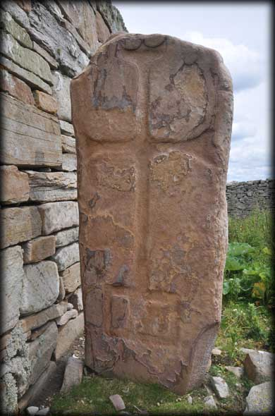 Cross-inscribed Pillar